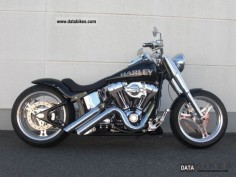 2009 Harley Davidson * Bike Farm FLSTF Custom Fat Boy * Line Conversion