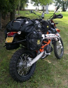 2009 KTM 690 Enduro w/Wolfman Luggage