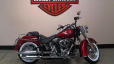 2012 Harley Davidson Softail Deluxe  My favorite bike :)