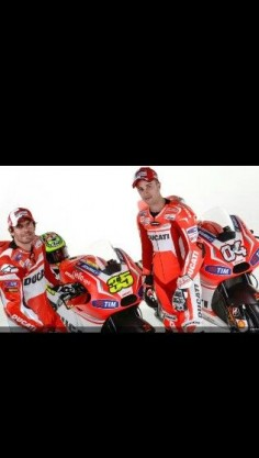 2014 ducati team, andrea dovizioso and cal crutchlow