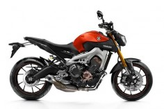2015-Yamaha -MT-09 Blazing Orange