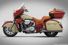 2016 Indian Motorcycle Line Photos - Motorcycle USA-2016 Indian Roadmaster
