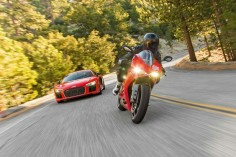 2017 Audi R8 V10 Plus and 2015 Ducati 1299 S Panigale