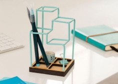 3D Desk Organizer By Tara