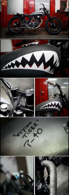 """500 SR """"Flying Tiger"""" by Blitz Motorcycles -"""