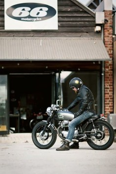 66 Motorcycles #caferacer #motorcycles #motos |