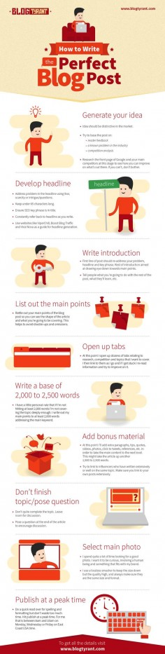 7 Awesome Tips For Writing Brilliant Blog Posts [Infographic] | Social Media Today