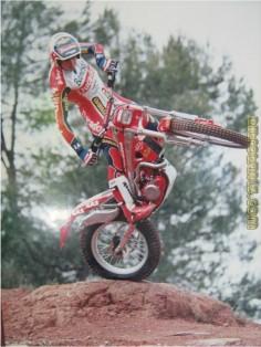 7 times World Motorcycle Trials Champion Jordi Tarres. Catalonia | Europe