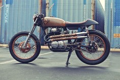 '72 CB350 Honda - Chappell Customs