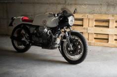 '72 Moto Guzzi V7: Meccanima Cafe Racer! – OTOMOTIF USA
