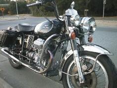 '74 Moto Guzzi Eldorado LAPD