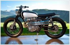 '75 Honda CL360, Casey Braaksma Bike