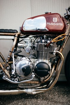 '76 Honda CB350F – Apache Custom Motorcycles