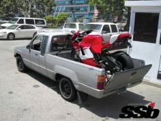 90,000$ bike - 1000$ truck #desmo #desmosedici
