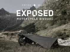 A bivouac for motorcycle travel, to enjoy the outdoors the purest way possible.