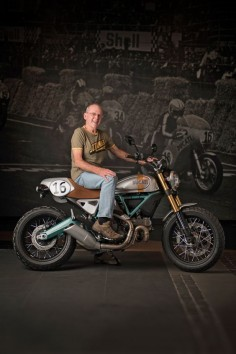 A famous name returns to the Ducati fold: Paul Smart. The legendary English racer has helped design a limited run of 24 Ducati Scramblers, and we want one.