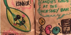 A mom found a perfect way to make packing her kids' lunch more creative and pun-filled.