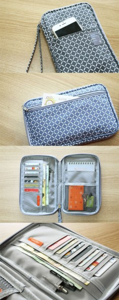 A super functional travel carry-all! On the outside the Better Together Daily Wallet looks like an unassuming (but cute) pouch. But open it up to find so much more! There are plenty of card slots and pockets to hold your pens, cash, hotel key, passport, phone, tickets, and more! The zipper closure and wrist strap ensure all your necessities are safely secured at all times. It even comes with a notepad that fits perfectly inside! Prepare yourself for your next travel adventures and check it out!