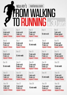 Alexandra Riecke-Gonzales - Google+ - From Walking to Running in 30 Days #runnin   #fitness  …