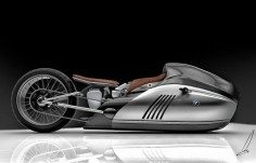 Alpha Motorcycle Concept Design Study for BMW by Mehmet Doruk Erdem