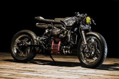 Amazing! Honda CX500 Cafe Racer by Ed Turner #motorcycles #caferacer #motos |