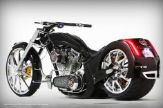 American Chopper Cadillac CTS-V Bike by Paul Jr Designs ♥ ♥ ♥ LOVE This