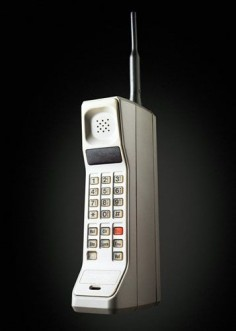 Analog Motorola DynaTAC 8000X Advanced Mobile Phone System mobile phone as of 1983