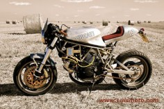 Another beautiful Ducati 900SS Cafe Racer