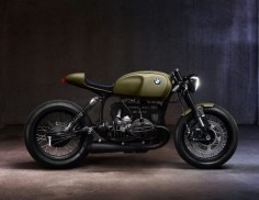 Another BMW beauty from @Diamond Atelier. Damn they're good! #bmwmotorrad #airhead #caferacer