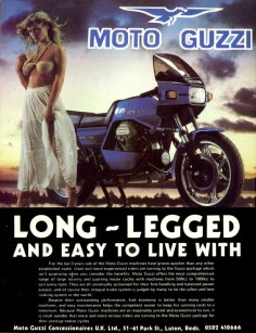 another non PC gem. moto guzzi le mans mk2 june 1980
