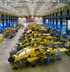 Apache Helicopter Manufacturing Plant Mesa Arizona
