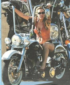 Ape Hangers on a Woman, Sweet!(  ---meet local bikers for riding buddies and relationship )