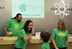 Apple to hold summer camps for kids at different Apple Store locations to teach how to use video making and editing apps and programming #iOS #tech #iMovie #Apple #summercamp #kids #appleStore