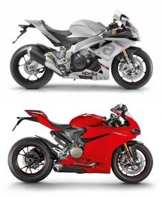 Aprilia RSV4 RR & Ducati 1299 Panigale S