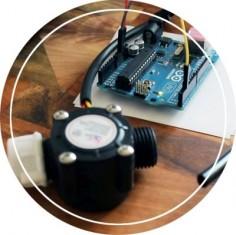 arduino water flow sensor project