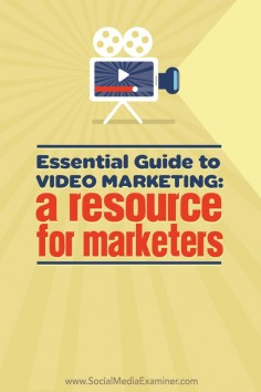 Are you looking for a resource to help you combine video with social media marketing? click on pin and read more