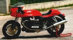 Arturo Magni. Moto Guzzi.