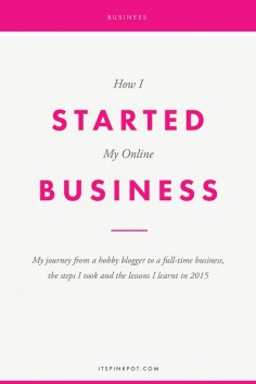 At the beginning of 2015, I was a hobby blogger with a full time corporate job. Here are all the steps I took, the mistakes I made, the lessons I learnt in 2015