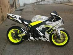Awesome colors Yamaha motorcycle
