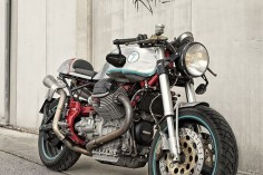 Back to Basics - Guzzi V11 Cafe Racer via