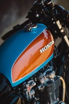Bane – Jules' CB500 Four Cafe Racer