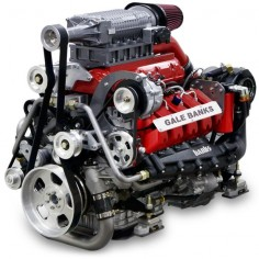 Banks Sequential Super-Turbo Diesel Marine Engine