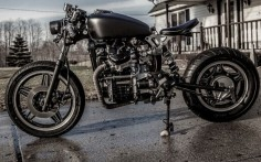 "BARN BUILT CAFE RACER # 1981 Honda CX500 ""John's Cx"""