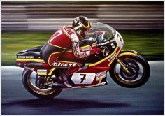 Barry Sheene , Suzuki RG500