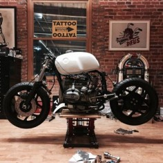 Be Good or Be Gone - '86 BMW R80 from TATTOO MOTO -  - Cone Engineering Cafe Racer Seat and Thank @tattoocustommotorcycles