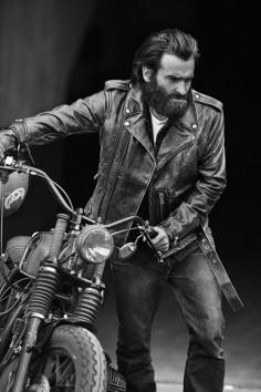 beard and bike