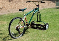 Behold! The Mowercycle!