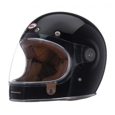 Bell Bullitt Helmet - Solid Black | Full Face Motorcycle Helmets | FREE UK delivery - The Cafe Racer