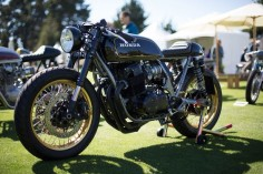 Best of The Quail Motorcycle Gathering, 2016: A Honda CB750 cafe racer by Cognito Moto.