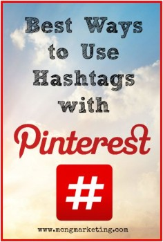 Best Ways to Use Hashtags on Pinterest